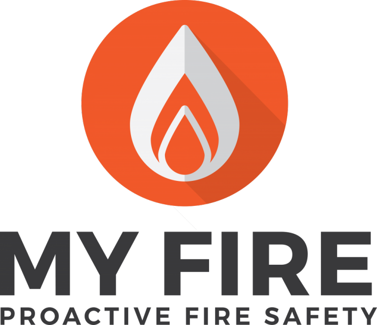 MyFire UK Fire Safety Logo