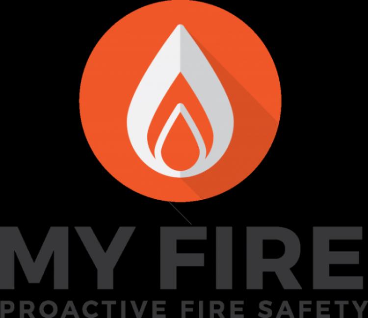 MyFire UK Fire Safety Logo