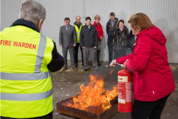 practical fire warden training