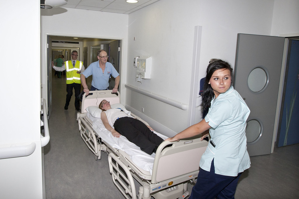 fire safety training for hospital staff