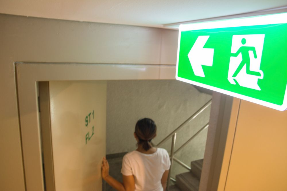 fire evacuation plans and training